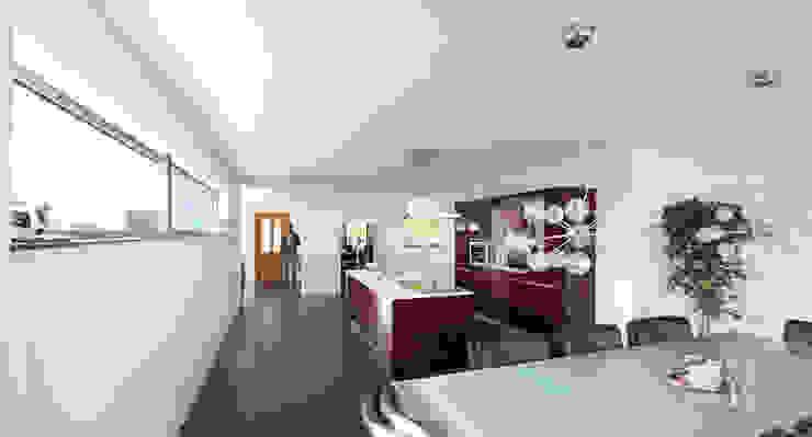 Verbouwing Woonhuis Beek Moderne keukens van SeC architecten Modern