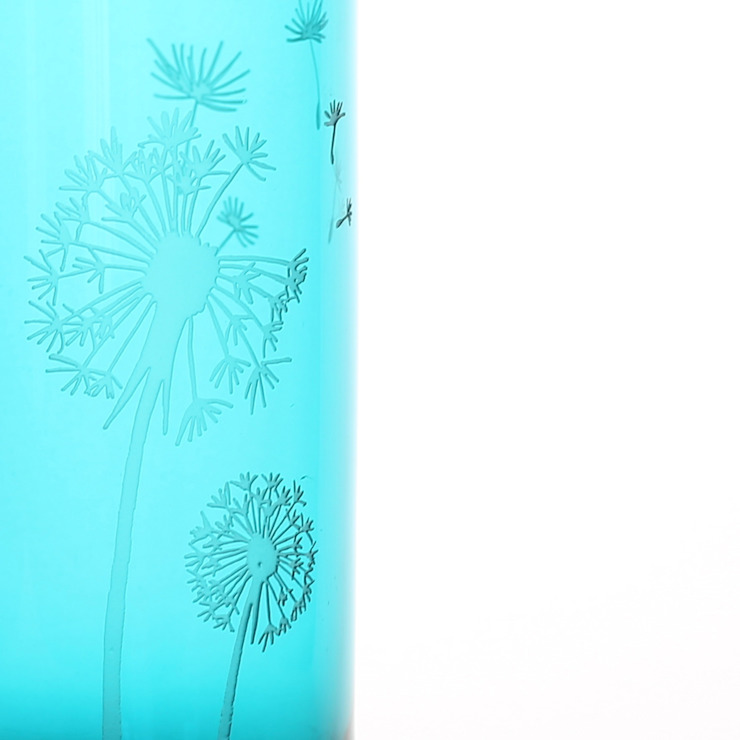 Electric Dandelion Jug: eclectic  by Sara Newman Design, Eclectic