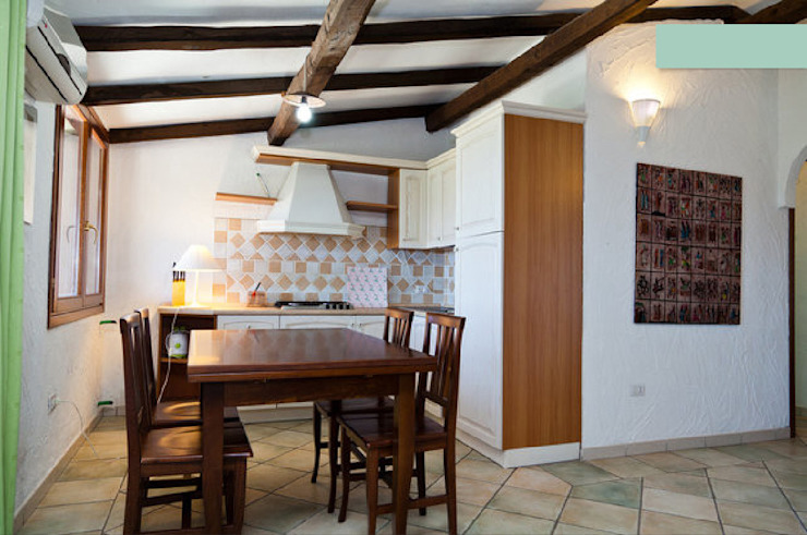 Mediterranean style kitchen by ArchEnjoy Studio Mediterranean