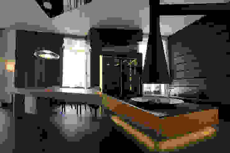 квартира на Станиславского Disobject architects Столовая комната в стиле модерн