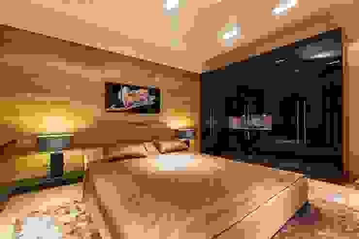 Дизайн интерьера квартиры в Московском р-не Санкт-Петербурга Спальня в эклектичном стиле от Павел Исаев Эклектичный