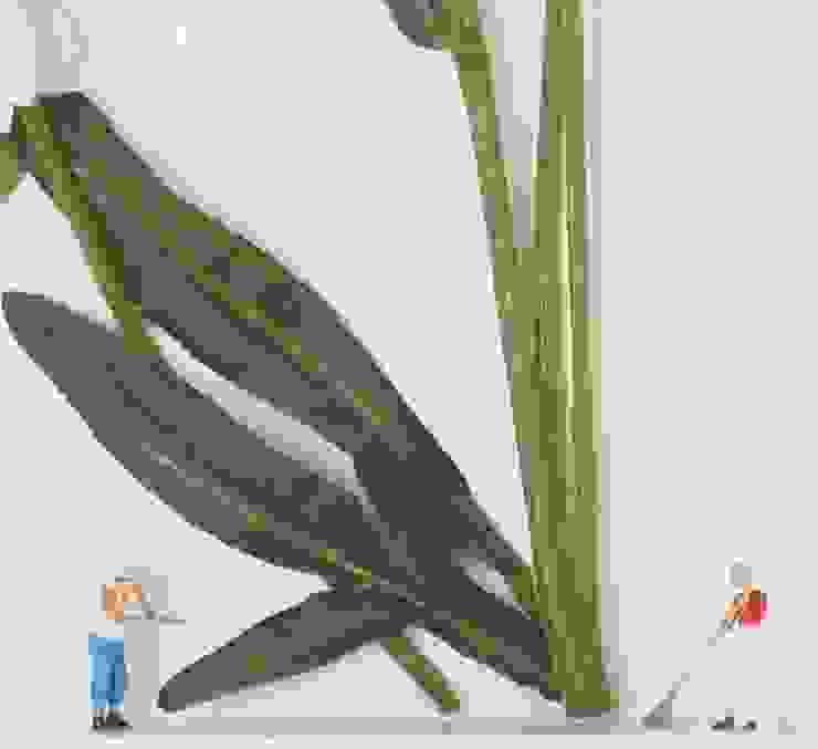 Summer Garden: minimalist  by Sara Newman Design, Minimalist