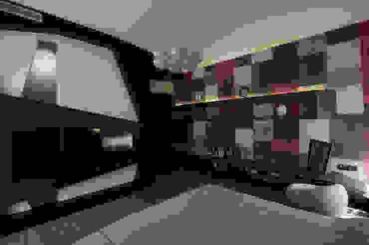 квартира на Станиславского Disobject architects Спальня в стиле модерн