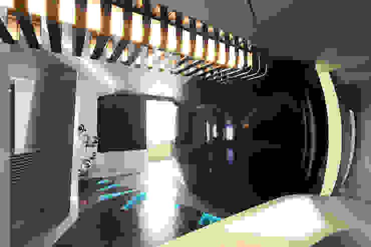 квартира на Масловке Гостиная в стиле модерн от Disobject architects Модерн