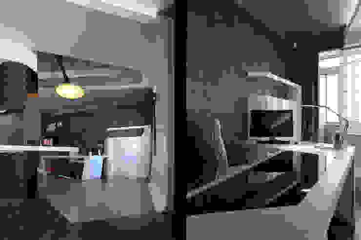 квартира на Масловке Рабочий кабинет в стиле модерн от Disobject architects Модерн