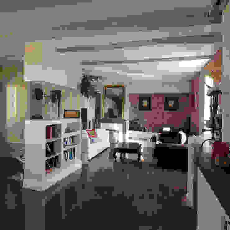 salon et coin bureau Salon original par Atelier S Éclectique