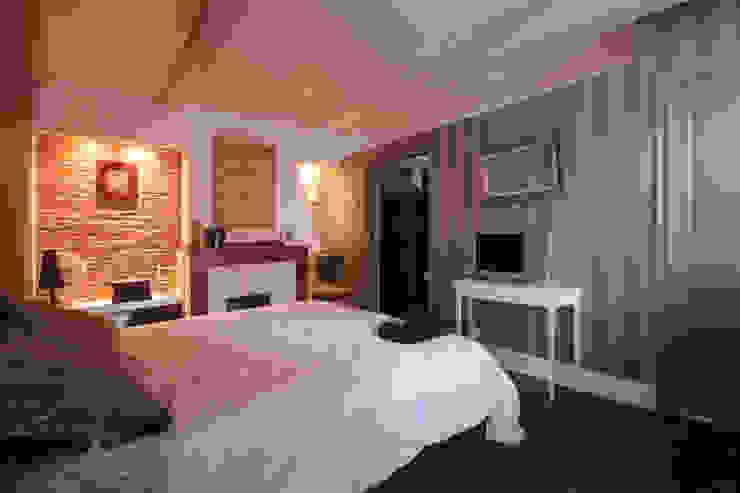 chambre /dressing Chambre originale par Atelier S Éclectique