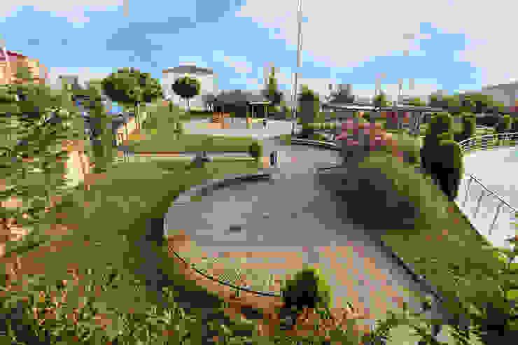 asis mimarlık peyzaj inşaat a.ş. Jardines de estilo mediterráneo