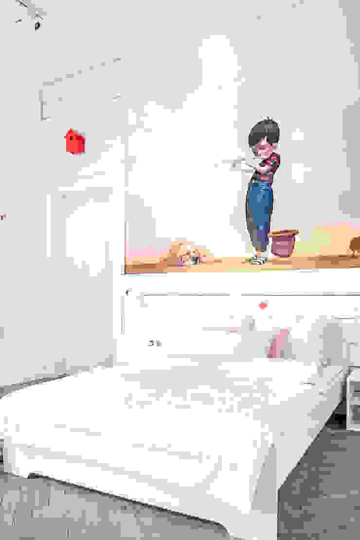 Komplet Pościeli Morgon Skandynawska sypialnia od Lilla Sky Skandynawski