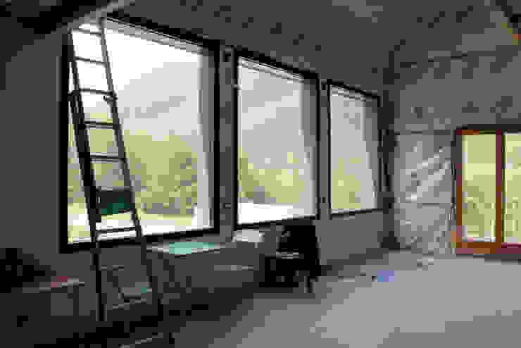 salon - chantier en cours Salon minimaliste par Atelier S Minimaliste