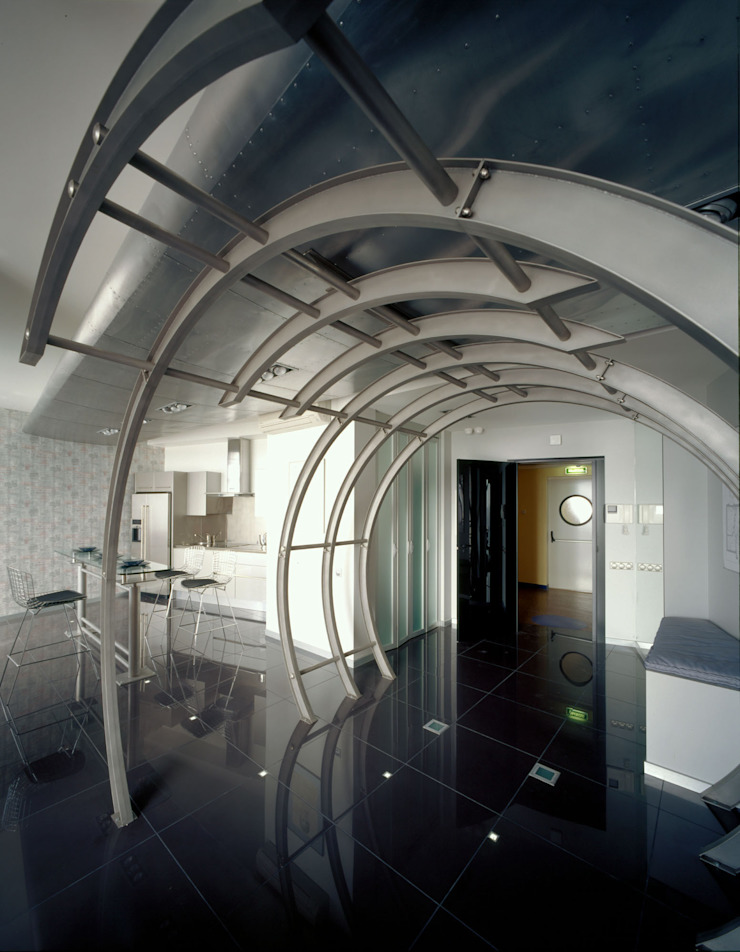 квартира на Авиационной Кухня в стиле модерн от Disobject architects Модерн