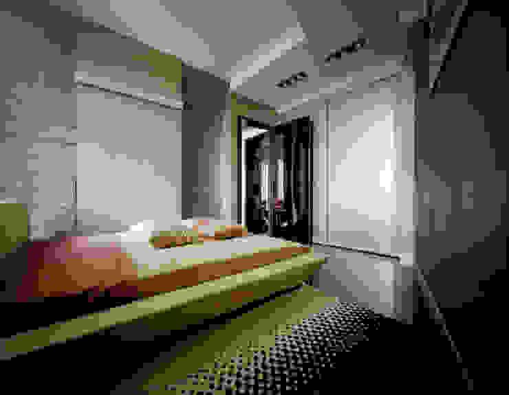 квартира на Авиационной Спа в стиле модерн от Disobject architects Модерн