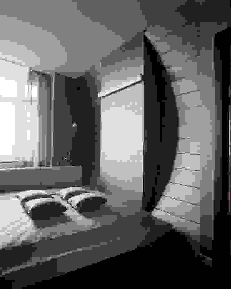 квартира на Авиационной Спальня в стиле модерн от Disobject architects Модерн