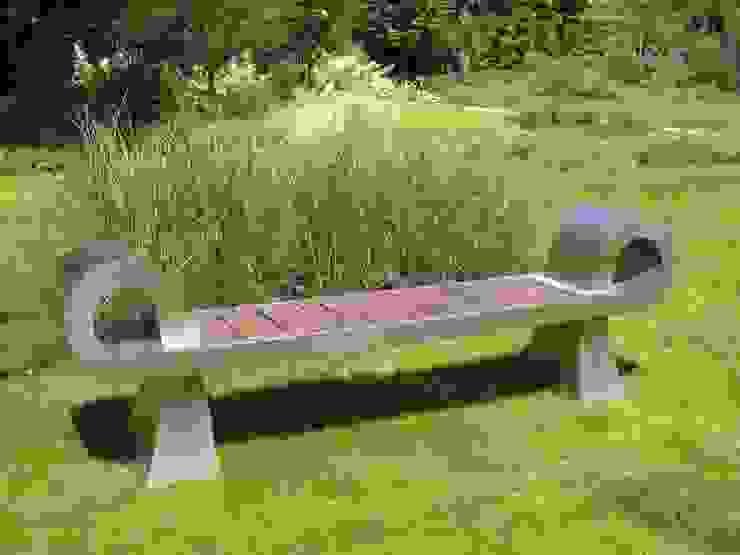 Ławka nowoczesna od Sungarden - Projektowanie i urządzanie ogrodów