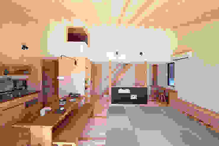 リビングダイニング: 一級建築士事務所co-designstudioが手掛けたダイニングです。,モダン