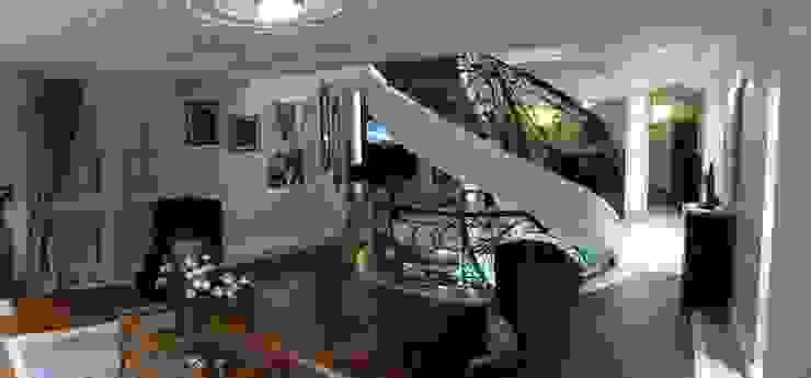 Kargen Sitesi Villa Modern Koridor, Hol & Merdivenler Mimark Tasarım Proje Uygulama Ltd. Şti. Modern