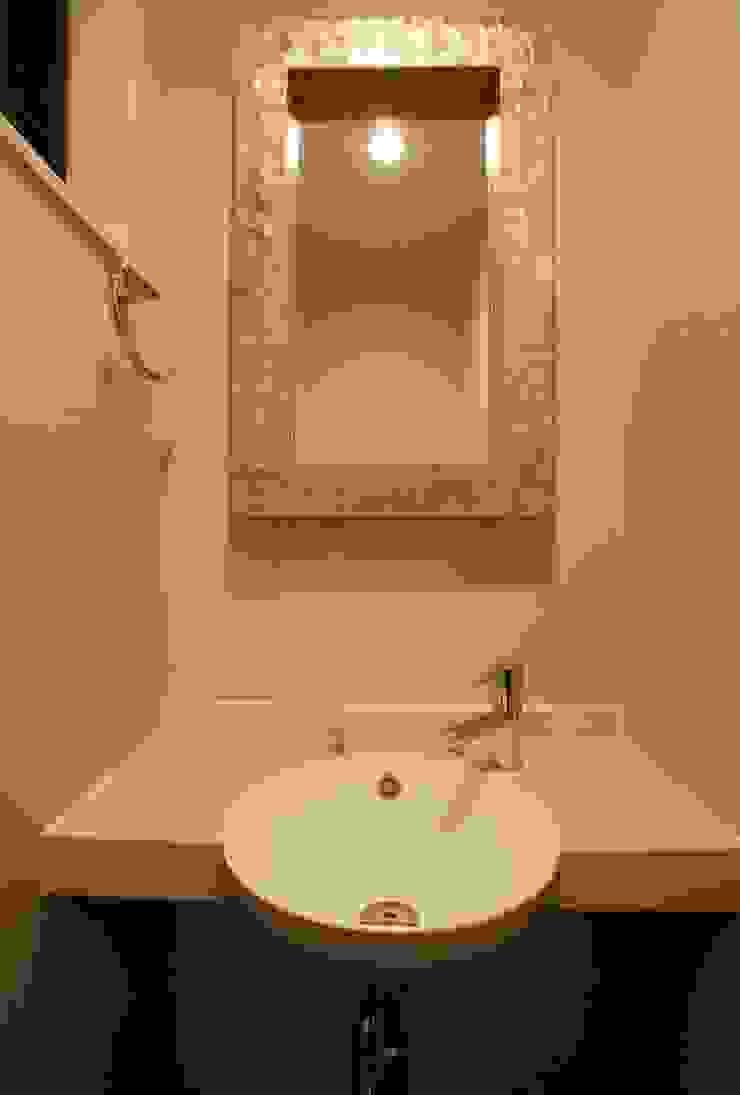 品川の住処 株式会社ハウジングアーキテクト建築設計事務所 和風の お風呂