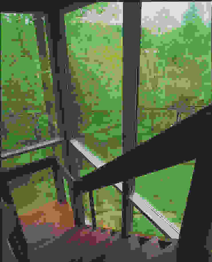 Баня в подмосковье Коридор, прихожая и лестница в стиле минимализм от ARP Studio Минимализм