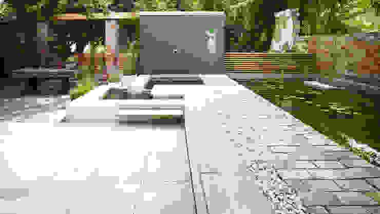 Jardines de estilo  por Eilmann Architekturbüro, Minimalista