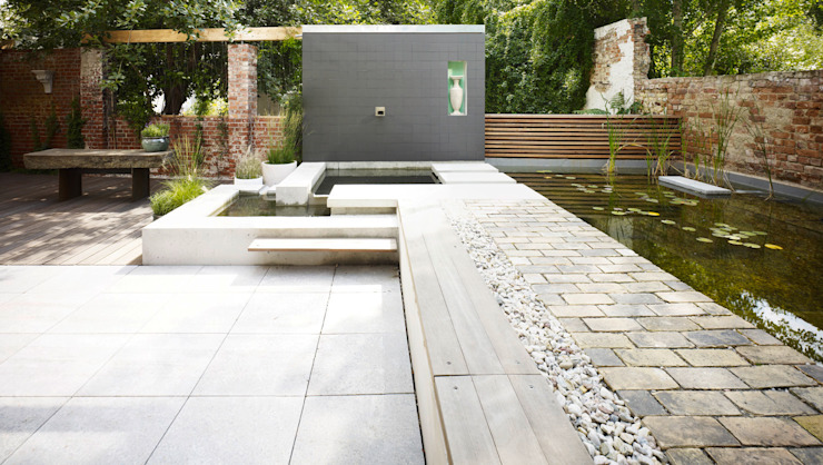Сад в стиле минимализм от Eilmann Architekturbüro Минимализм