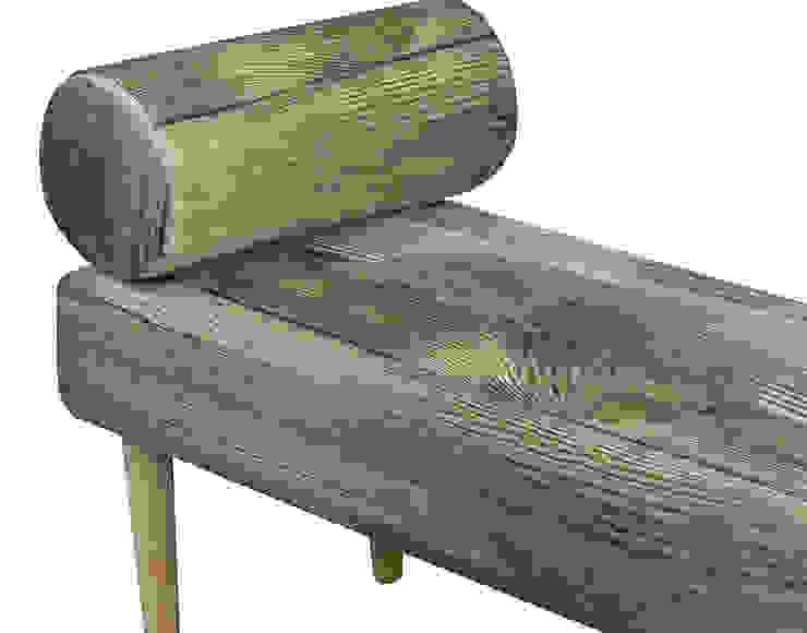 Siedzisko / Szezlong wood od Monkey Machine Magdalena Jasyk Bartczak Skandynawski