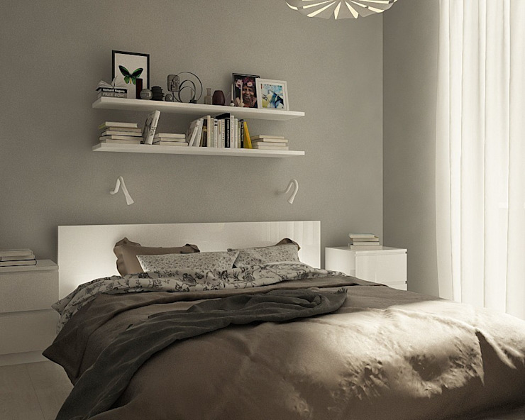 Scandinavian style bedroom by CO:interior Scandinavian
