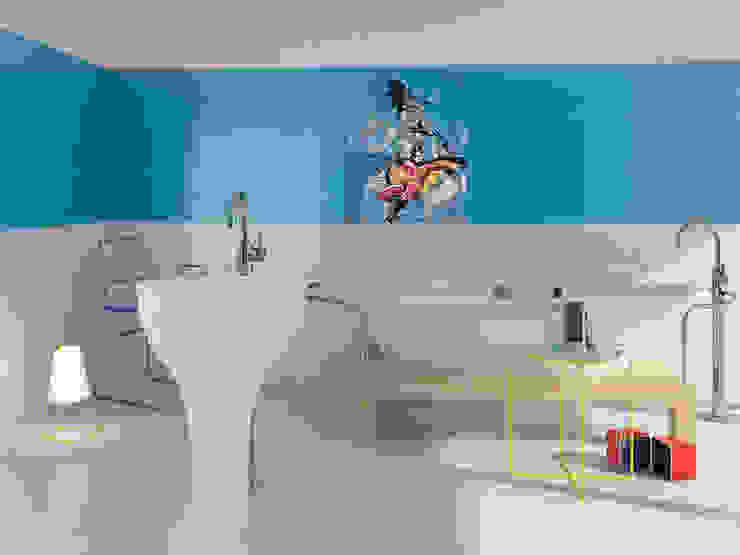 Batman & Robin Target Tiles BathroomDecoration