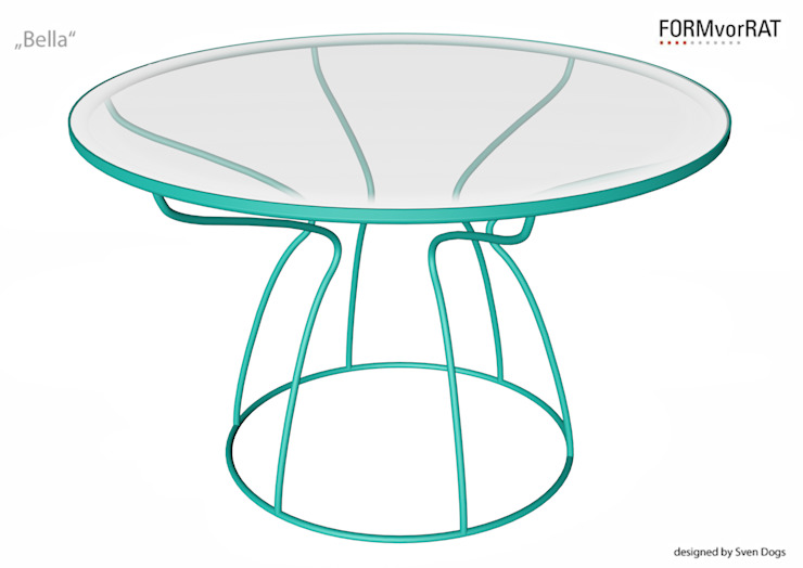 BELLA for FORMvorRAT - designed by Sven Dogs: modern  von sven dogs,Modern
