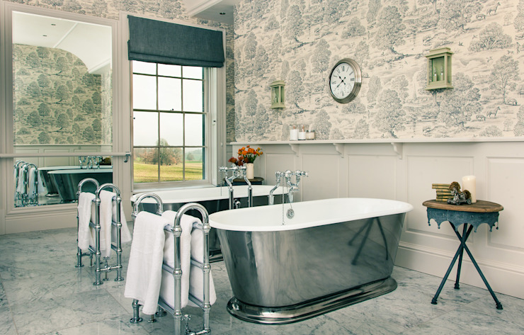 Baños de estilo  por Drummonds Bathrooms , Rural