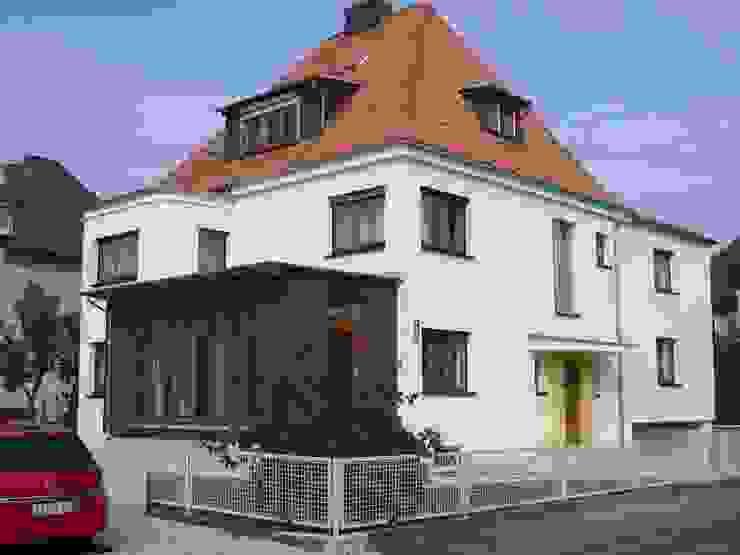 Energetische Modernisierung eines Wohnhauses mit Wintergartenanbau ARCHITEKTURBÜRO SEIPEL