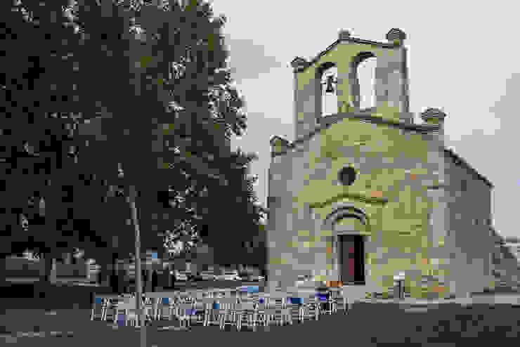 Boda religiosa l aire libre Jardines de estilo clásico de Empordà Events Clásico
