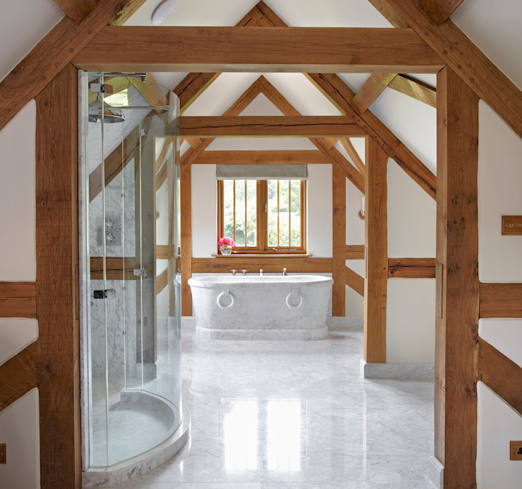 Country House Barn, Surrey Country style bathroom by Drummonds Bathrooms Country
