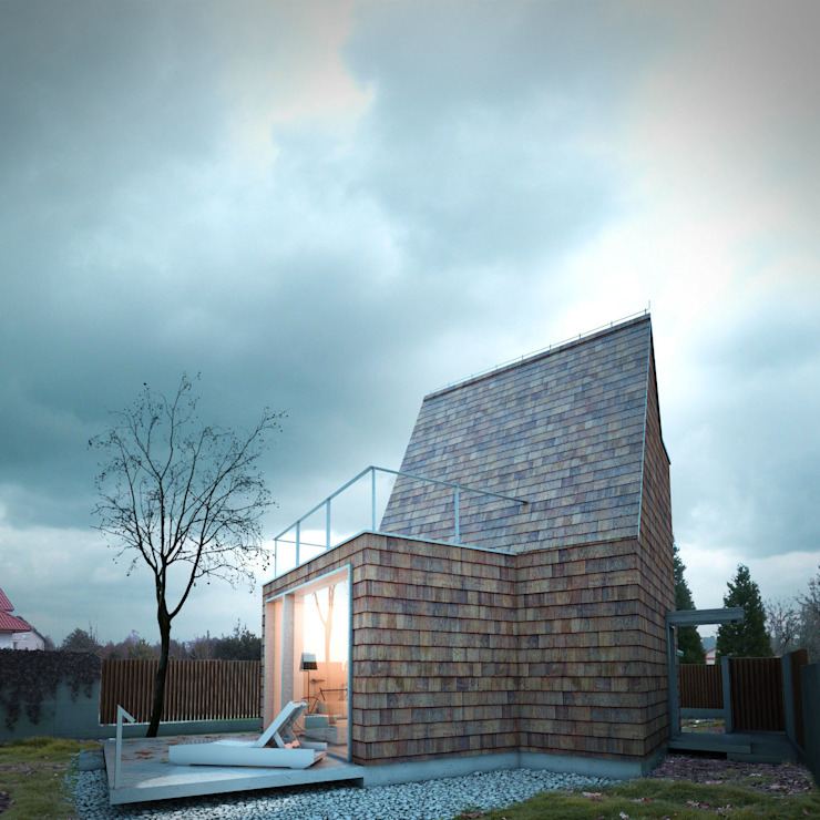 Casas minimalistas por 90 stopni Minimalista