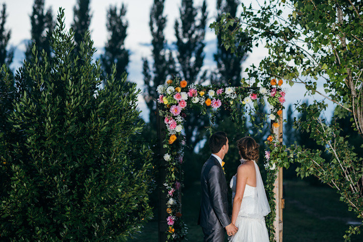 Rustic style garden by Empordà Events Rustic