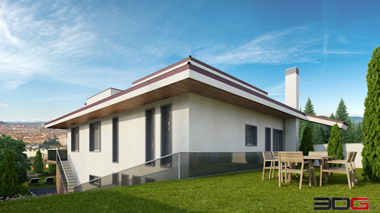 Modern Houses by 3DG Modern