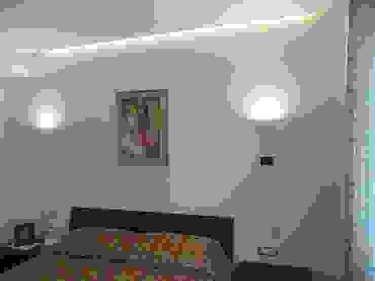 antonio giordano architetto Modern style bedroom
