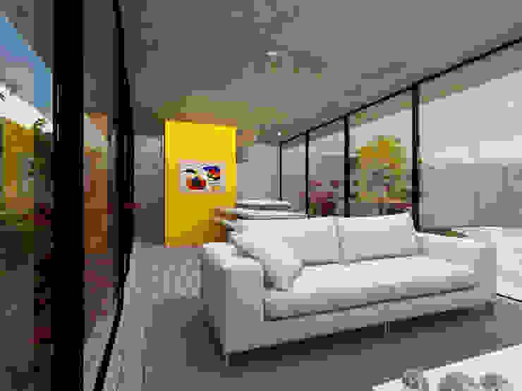 Wohnzimmer von Ateliê São Paulo Arquitetura, Modern