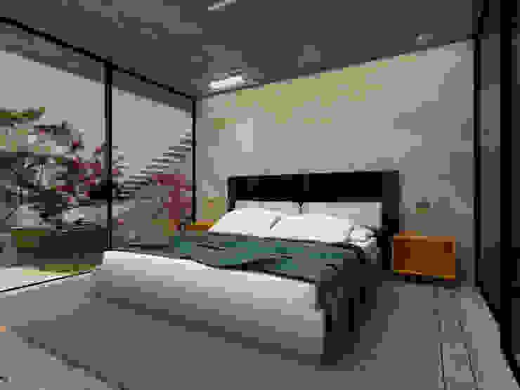 Camera da letto in stile  di Ateliê São Paulo Arquitetura