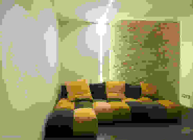 private house 13003 Soggiorno moderno di piccola bottega di architettura Moderno