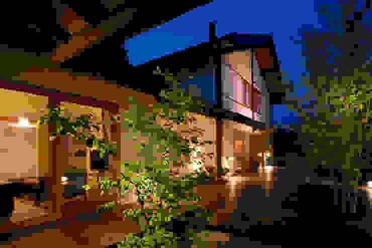 高根の舎Ⅰ‐外観(デッキ側より1) オリジナルな 家 の 有限会社中村建築事務所 オリジナル