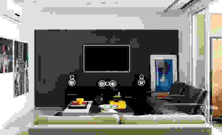 Modern living room by Flávia Gerab Modern