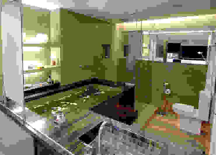 Modern Banyo Flávia Gerab Modern