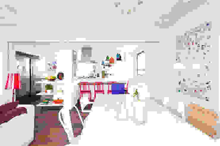 Modern Yemek Odası Flávia Gerab Modern