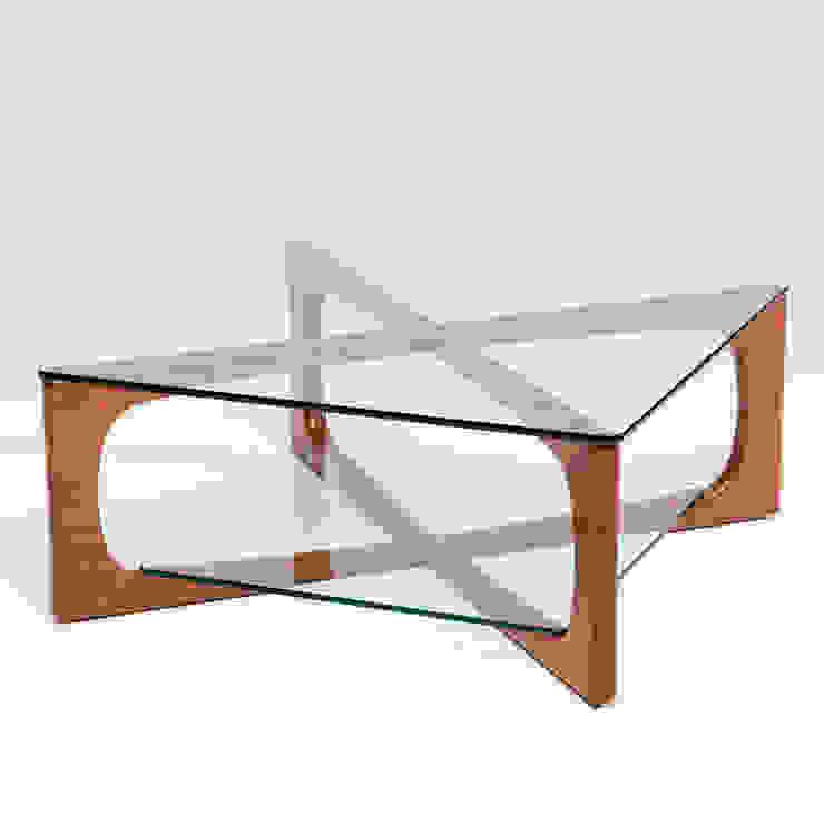 MESA CENTRO LOTO de Estudio de diseño, espacios y mobiliario, Carmen Menéndez Moderno