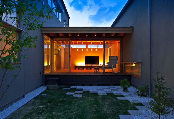 有限会社ミサオケンチクラボ Modern Garden