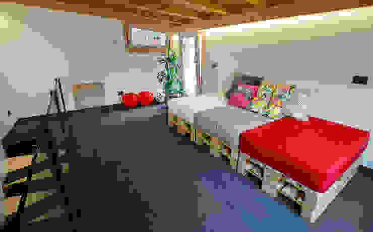 JC's House Soggiorno minimalista di BEARprogetti - Architetto Enrico Bellotti Minimalista