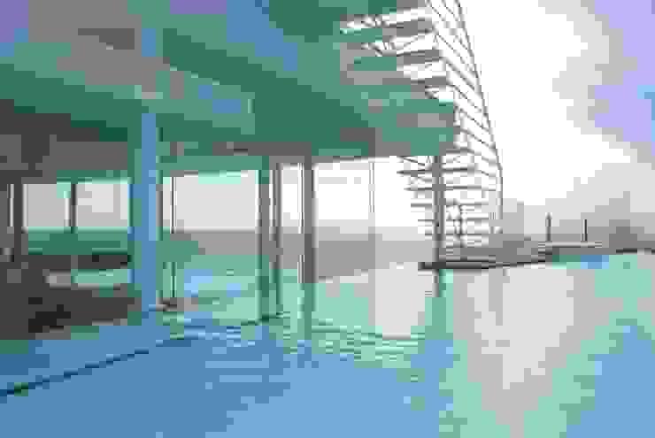 Modern Pool by アトリエ T+K Modern