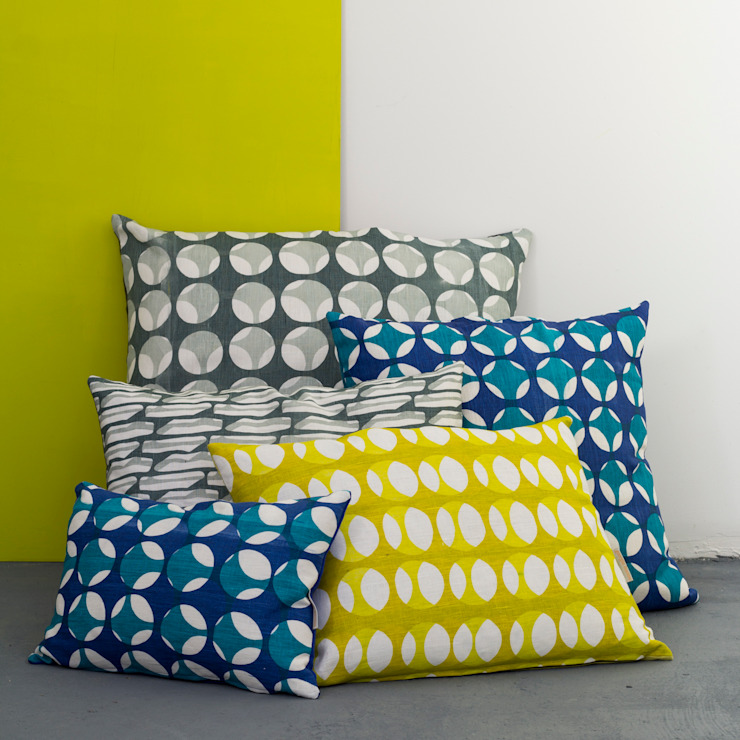 Current collection of Skeleton print cushions: modern  by Georgia Bosson, Modern