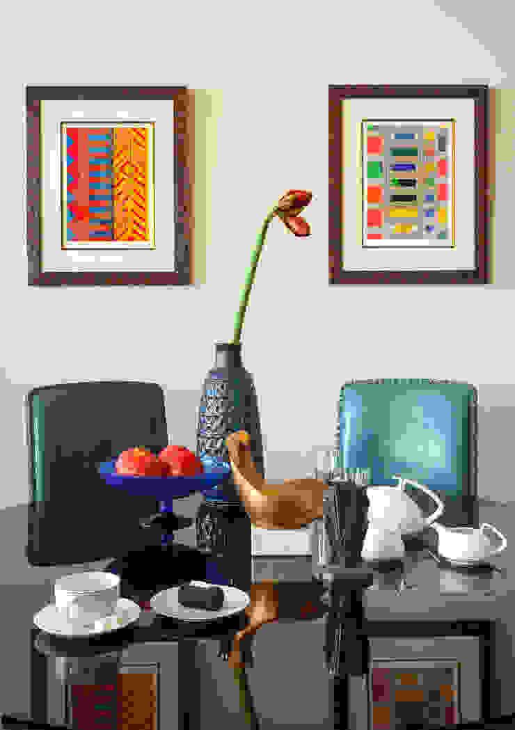 Новое ар деко Столовая комната в эклектичном стиле от МАРИНА БУСЕЛ интерьерный дизайн Эклектичный