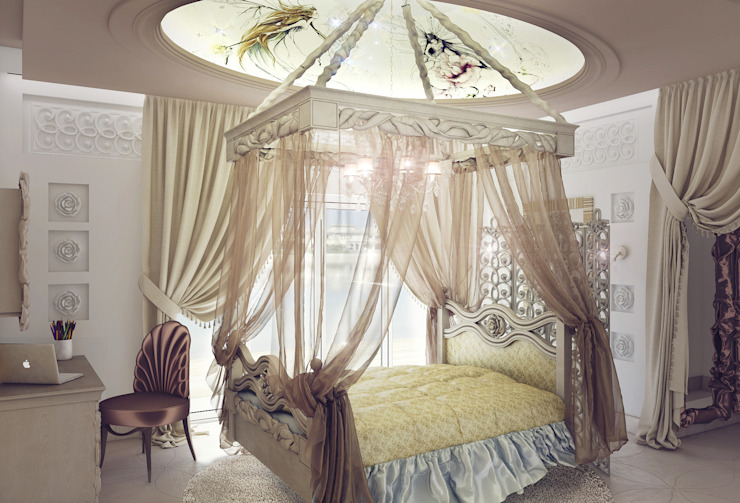 Bedroom by 3D_DESIGNER_ALLA, Eclectic